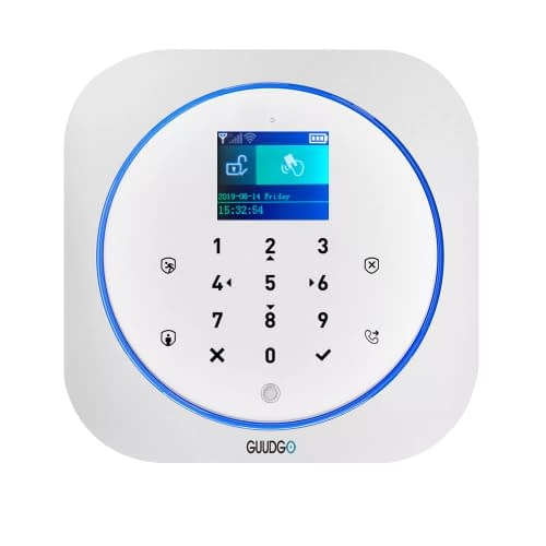 Guudgo Tuya App Smart Wifi Gsm Home Security Alarm System Detector Alarm 433mhz Compatible With Alexa Google Home Ifttt Rogue Nation Depot